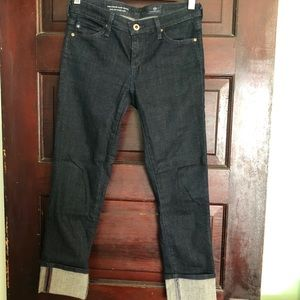 AG Stevie cuff petite jeans size 25P